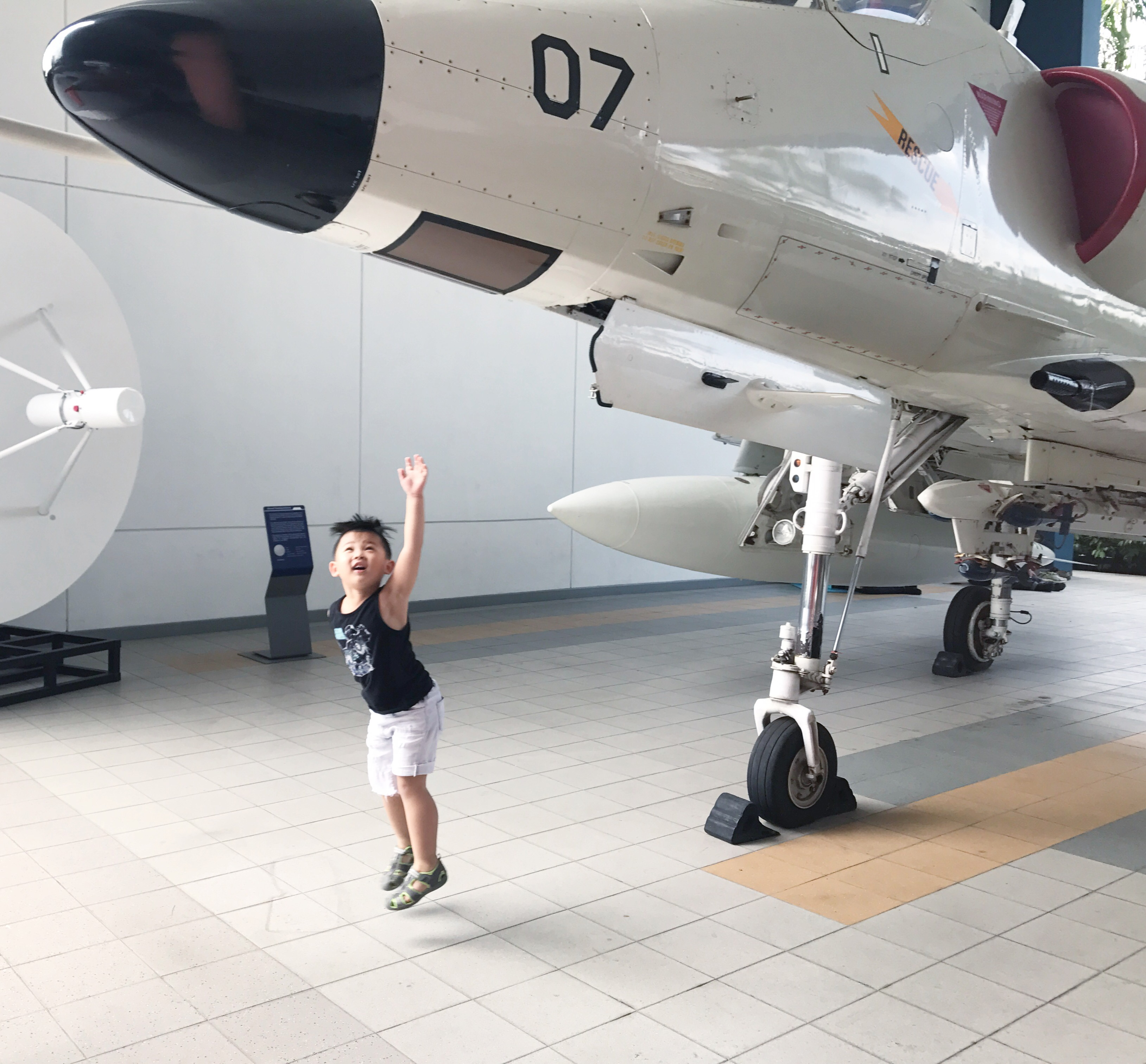 Singapore Air Force Museum Tjinlee - How many museums in us